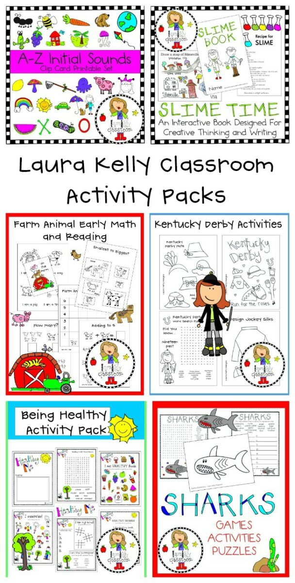 Educational At Home Learning Activities for Kids