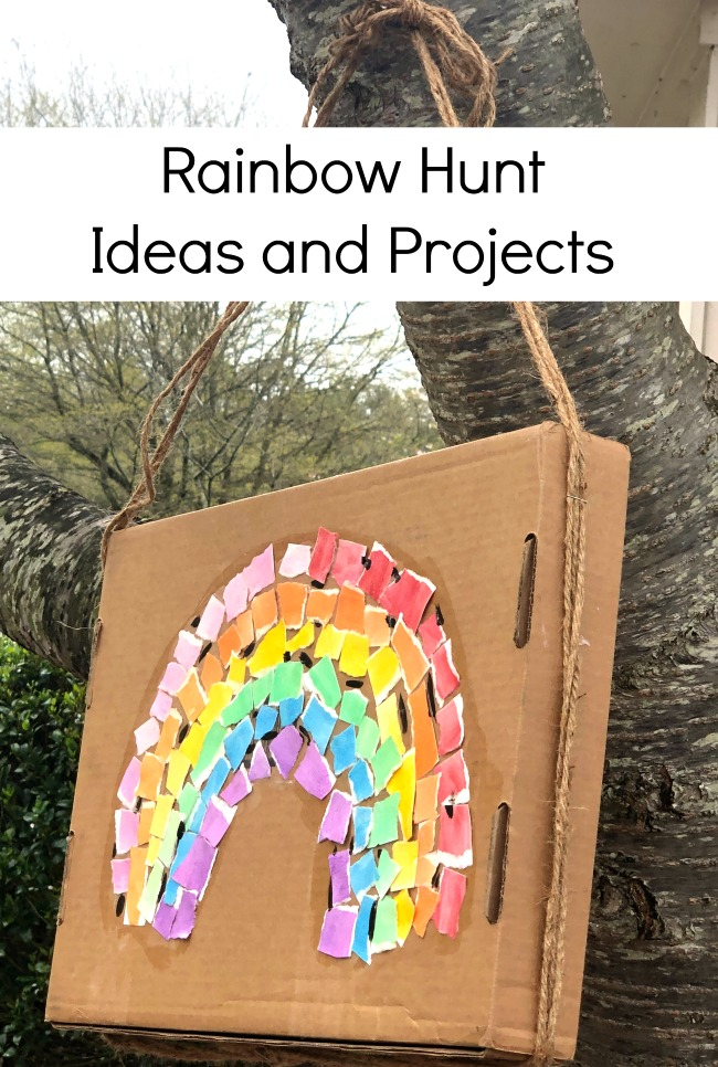 Rainbow Hunt Ideas and Projects