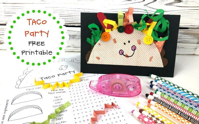 Family Taco Printable Party