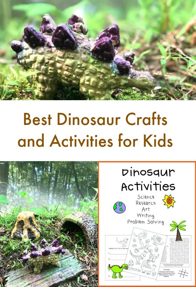 Best Dinosaur Crafts and Printables for Kids