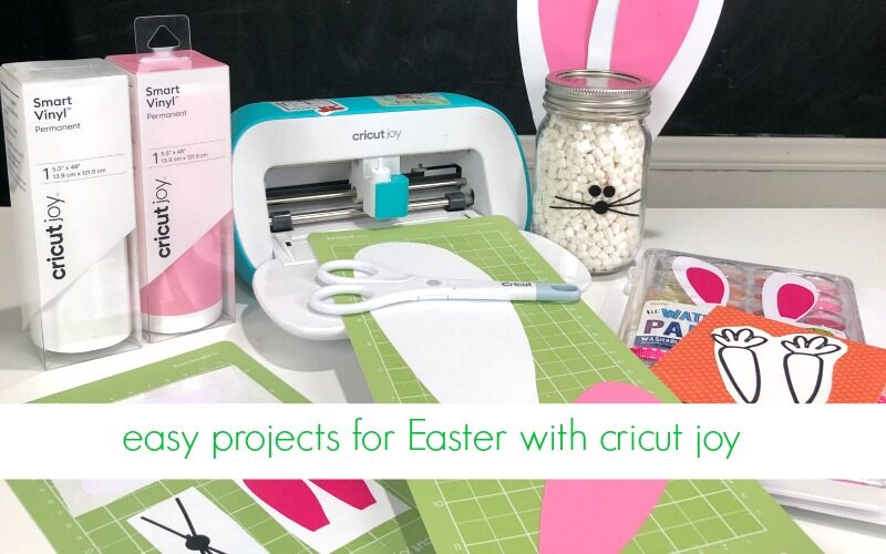 Easter Projects for Kids with Cricut Joy