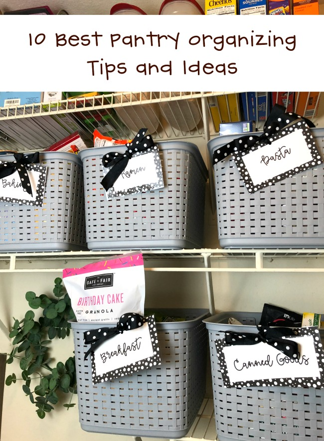 10 Best Pantry Organizing Tips and Ideas for Success