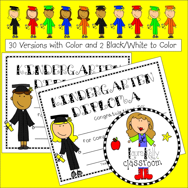 Free Kindergarten Diploma Certificate Download Printable