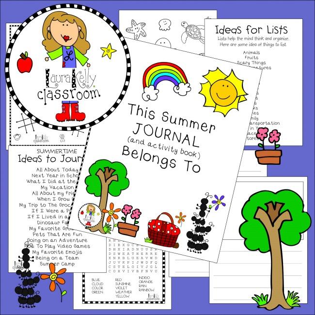 Summer Journal Activity Pack