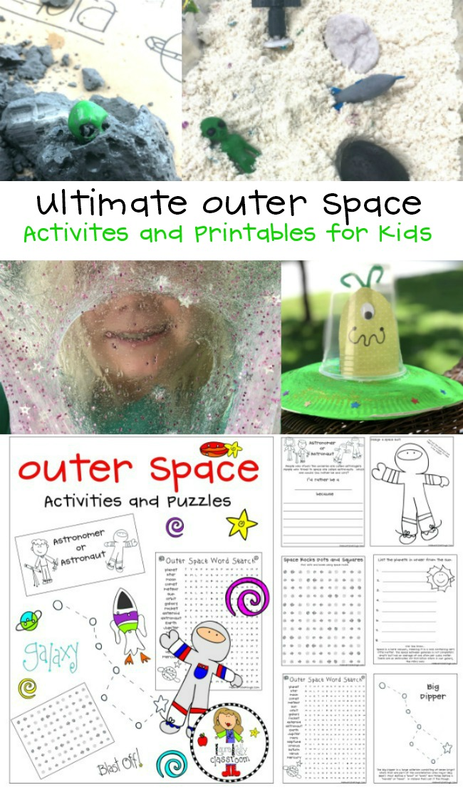 Ultimate Outer Space Activities for Kids