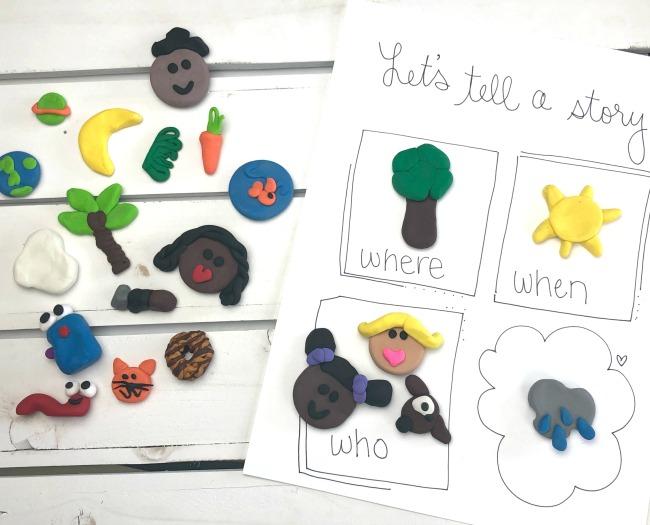 Story Starters Diversity Craft
