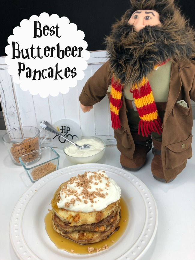 Best Butterbeer Pancakes for Harry Potter Breakfast