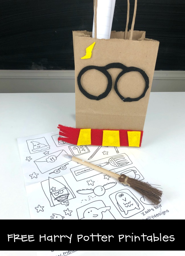 Free Harry Potter Printables Goody Bag