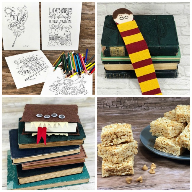 Harry Potter DIYs Creatively Beth