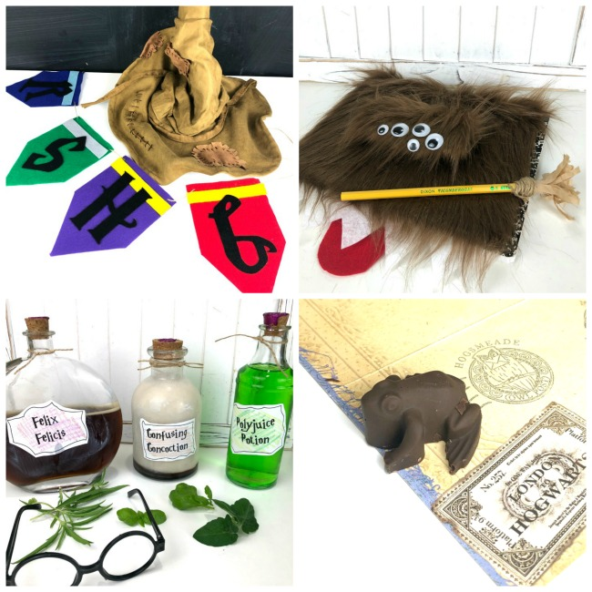 Harry Potter DIYs Makeable Crafts
