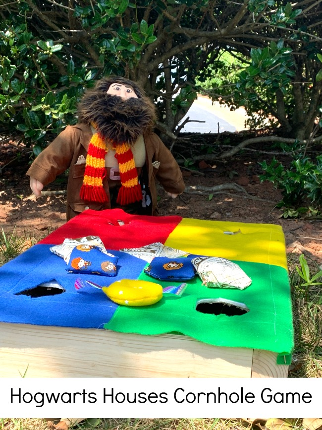 Hogwarts Houses Cornhole Game