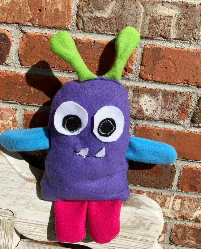 Monster Plush DIY Weighted